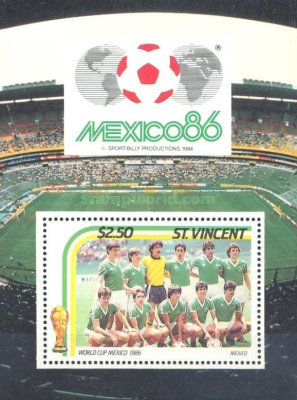 [Football World Cup - Mexico 1986, type ]