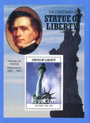 [The 100th Anniversary of Statue of Liberty, New York, type ]