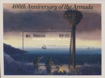 [The 400th Anniversary of Spanish Armada, type ]