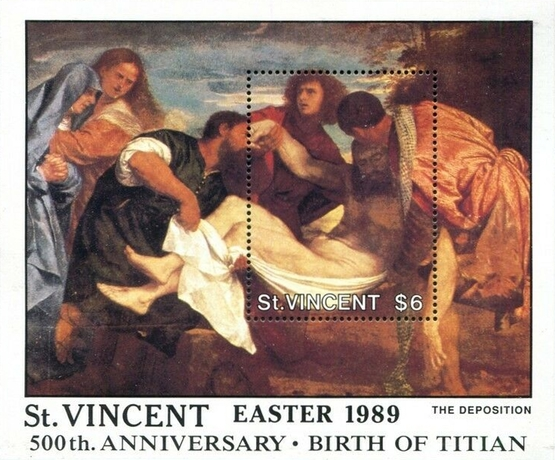 [Easter - The 500th Anniversary of the Birth of Titian, 1488-1567, type ]