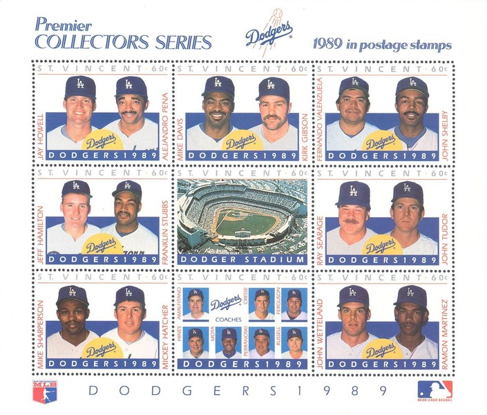 [Baseball Players of the Los Angeles Dodgers, type ]