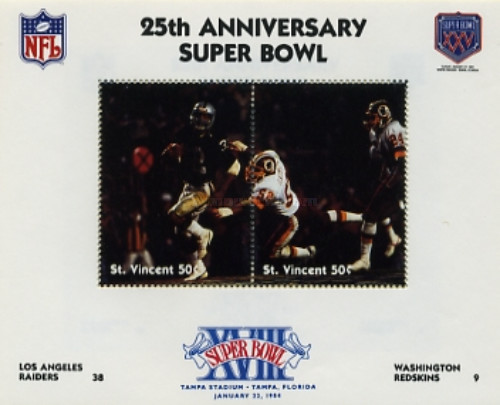 [The 25th Anniversary of Super Bowl American Football Championship, type ]