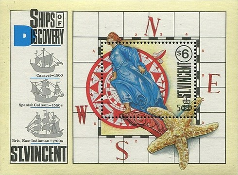 [The 500th Anniversary of Discovery of America 1992, type ]