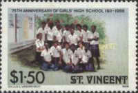 [The 50th Anniversary of St. Vincent Cadet Force and the 75th Anniversary of St. Vincent Girls' High School, type AAH]