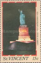 [The 100th Anniversary of Statue of Liberty, New York, type AAR]