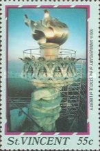 [The 100th Anniversary of Statue of Liberty, New York, type AAU]