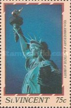 [The 100th Anniversary of Statue of Liberty, New York, type AAV]