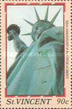 [The 100th Anniversary of Statue of Liberty, New York, type AAW]