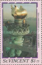 [The 100th Anniversary of Statue of Liberty, New York, type AAX]