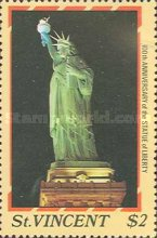 [The 100th Anniversary of Statue of Liberty, New York, type AAY]