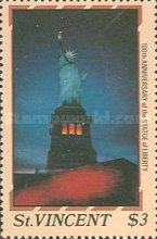 [The 100th Anniversary of Statue of Liberty, New York, type ABA]