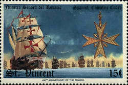 [The 400th Anniversary of Spanish Armada, type AEB]