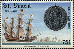 [The 400th Anniversary of Spanish Armada, type AEC]