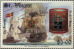 [The 400th Anniversary of Spanish Armada, type AEG]