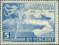 [The 75th Anniversary of Universal Postal Union, Typ AG]