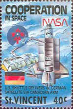 [International Co-operation in Space, type AHU]