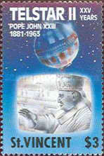 [The 25th Anniversary of Launching of Communications Satellite