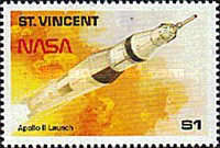 [The 20th Anniversary of First Manned Landing on Moon, type ALO]