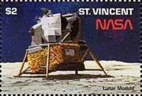 [The 20th Anniversary of First Manned Landing on Moon, type ALQ]