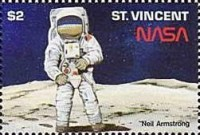 [The 20th Anniversary of First Manned Landing on Moon, type ALS]