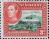 [New Constitution - Issues of 1942-1952 Overprinted, Typ AM]