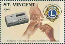 [The 25th Anniversary of Lions Club of St. Vincent 1989, type ARV]