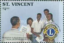 [The 25th Anniversary of Lions Club of St. Vincent 1989, Typ ARW]