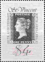 [The 150th Anniversary of the Penny Black, type ASJ]