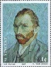 [The 100th Anniversary of the Death of Vincent van Gogh, 1853-1890, type AUY]