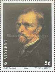 [The 100th Anniversary of the Death of Vincent van Gogh, 1853-1890, type AUZ]