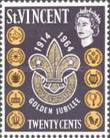 [The 50th Anniversary of Scouting in St. Vincent, type AV2]