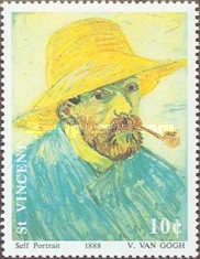 [The 100th Anniversary of the Death of Vincent van Gogh, 1853-1890, type AVA]