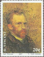 [The 100th Anniversary of the Death of Vincent van Gogh, 1853-1890, type AVC]