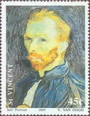 [The 100th Anniversary of the Death of Vincent van Gogh, 1853-1890, type AVD]