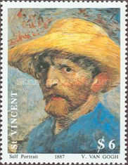 [The 100th Anniversary of the Death of Vincent van Gogh, 1853-1890, type AVF]