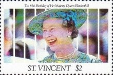 [The 65th Anniversary of the Birth of Queen Elizabeth II, type BAG]