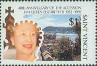 [The 40th Anniversary of Queen Elizabeth II's Accession to the Crown, type BIC]