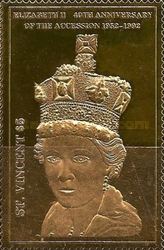 [The 40th Anniversary of Queen Elizabeth II's Accession to the Crown, type BIG]
