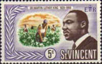 [Martin Luther King Commemoration, 1929-1968, Typ CF]