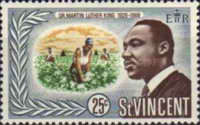 [Martin Luther King Commemoration, 1929-1968, type CF1]