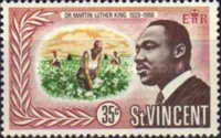 [Martin Luther King Commemoration, 1929-1968, Typ CF2]