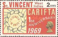 [The 1st Anniversary of Caribbean Free Trade Area or CARIFTA, type CM]
