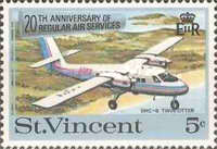 [The 20th Anniversary of Regular Air Services, type DH]