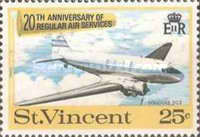 [The 20th Anniversary of Regular Air Services, type DK]