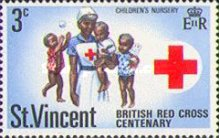[The 100th Anniversary of British Red Cross, type DL]