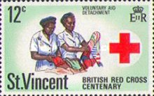 [The 100th Anniversary of British Red Cross, type DN]