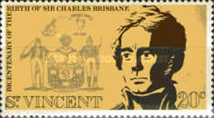 [The 200th Anniversary of the Birth of Charles Brisbane, 1769-1829, Typ EP]