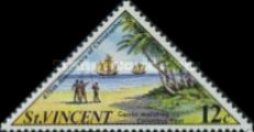 [The 475th Anniversary of Columbus's Third Voyage to the West Indies, Typ EU]