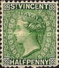 [Queen Victoria - Different Color & Watermark, type F2]