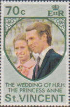 [Wedding of Princess Anne and Mark Phillips, Typ FF1]